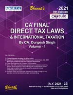 Capsule Studies on DIRECT TAX LAWS & International Taxation (A.Y. 2021-22), 9th edn., 2021 (in 2 vols.) (Colourful Edition)