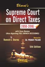 Supreme Court on Direct Taxes (1950-2016)