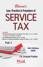Law, Practice & Procedure of SERVICE TAX (in 2 vols.)