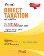DIRECT TAXATION with MCQs for CMA Inter (Paper 7)