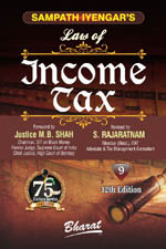 Sampath Iyengar's Law of INCOME TAX [Volume 9 released]
